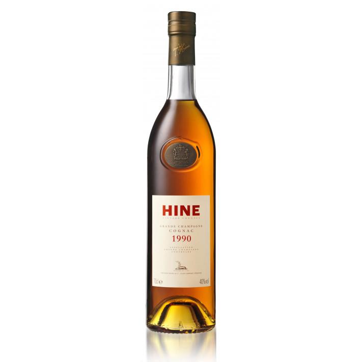 Hine 1990 Vintage Grande Champagne Cognac 01