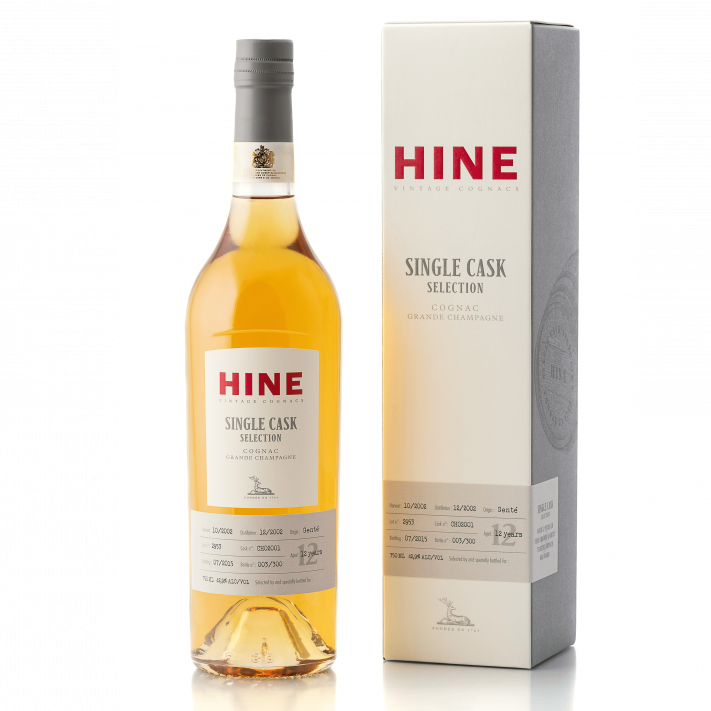 Hine Single Cask Selection Vintage Cognac 01