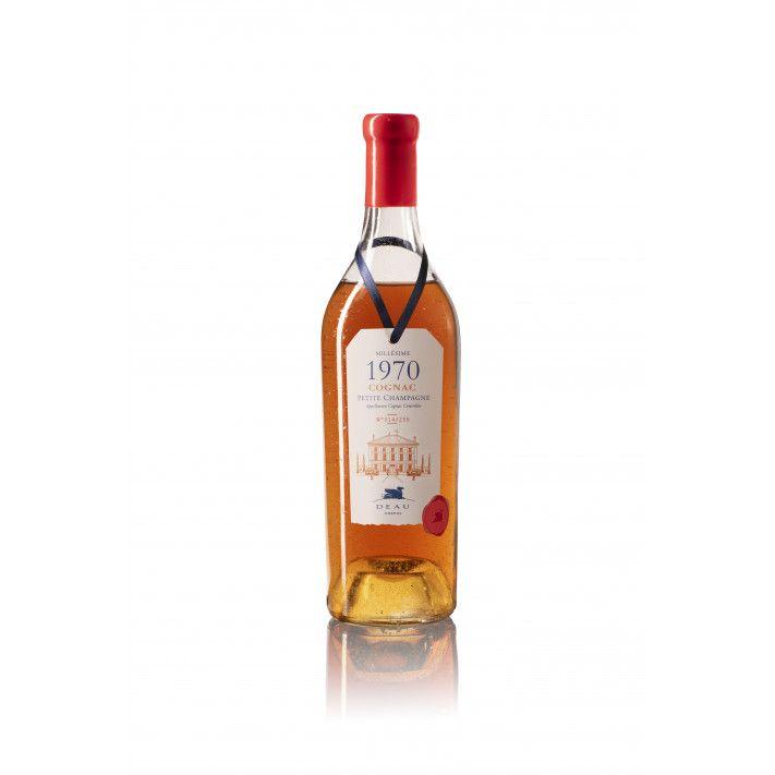 Deau Vintage 1970 Petite Champagne Cognac 01