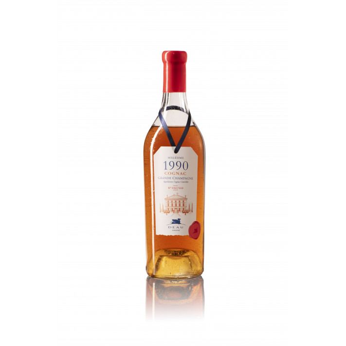 Deau Vintage 1990 Grande Champagne Cognac 01