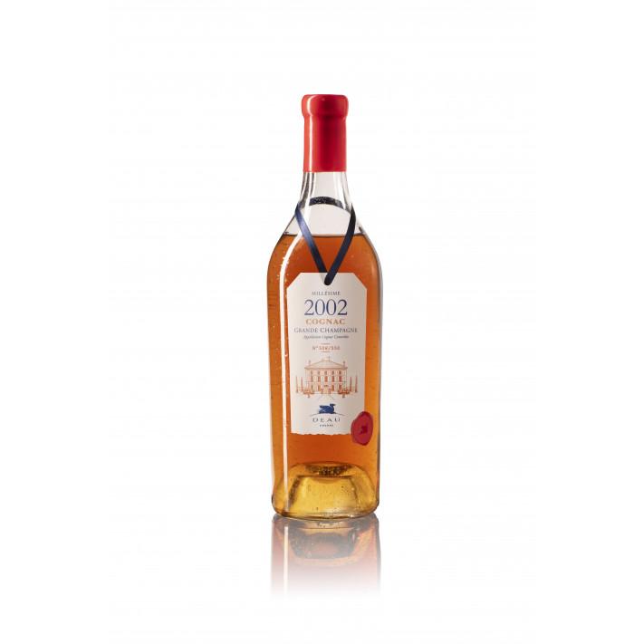 Deau Vintage 2002 Grande Champagne Cognac 01