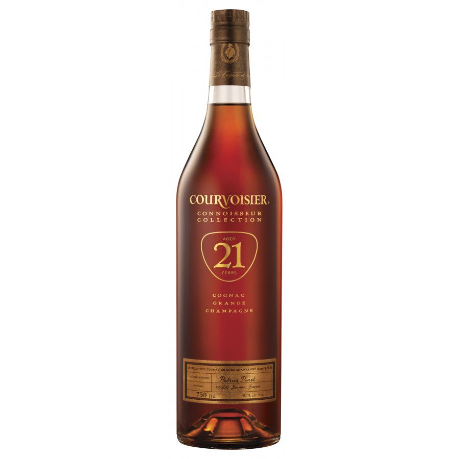Courvoisier Vintage Connoisseur Collection 21 Years Cognac 01