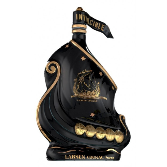 Larsen Viking Ship Black Cognac 01