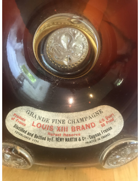 Louis XIII Remy Martin Grande Fine Champagne Cognac 014