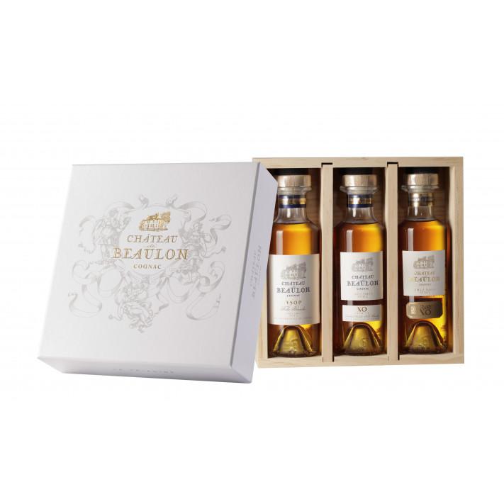 Chateau de Beaulon Triadine Tasting Set Cognac 01