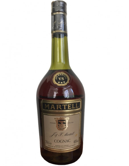 J & F Martell Three Star VS 1980s Cognac 07