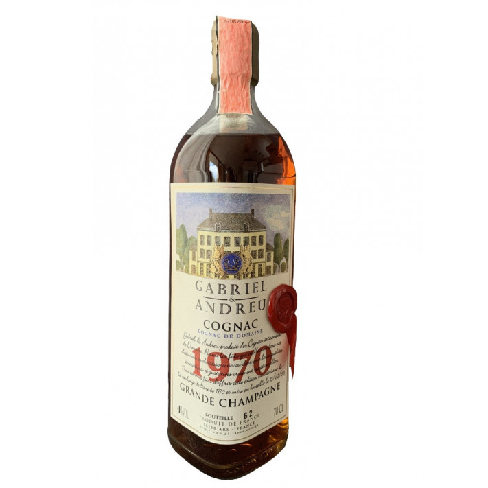 Gabriel & Andreu Cognac De Domaine 1970 01