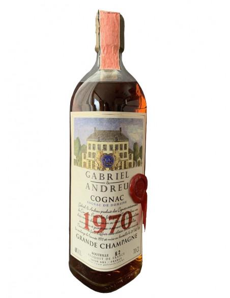 Gabriel & Andreu Cognac De Domaine 1970 08