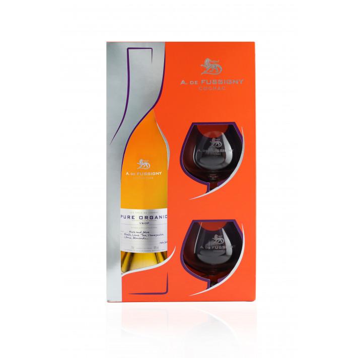 A De Fussigny Pure Organic VSOP Cognac 01