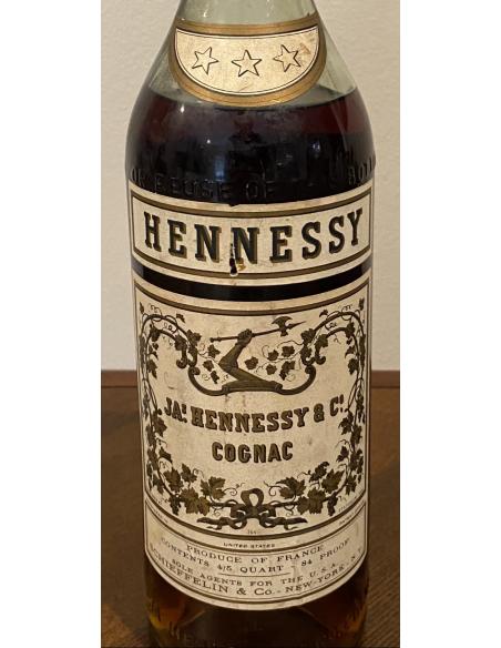 JA.s Hennessy & Co. Three Star Cognac 012