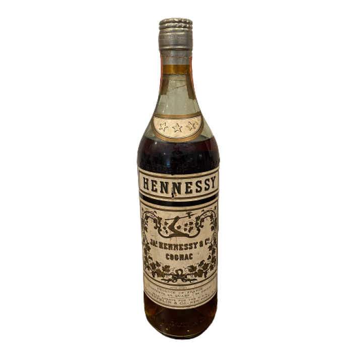 JA.s Hennessy & Co. Three Star Cognac 01