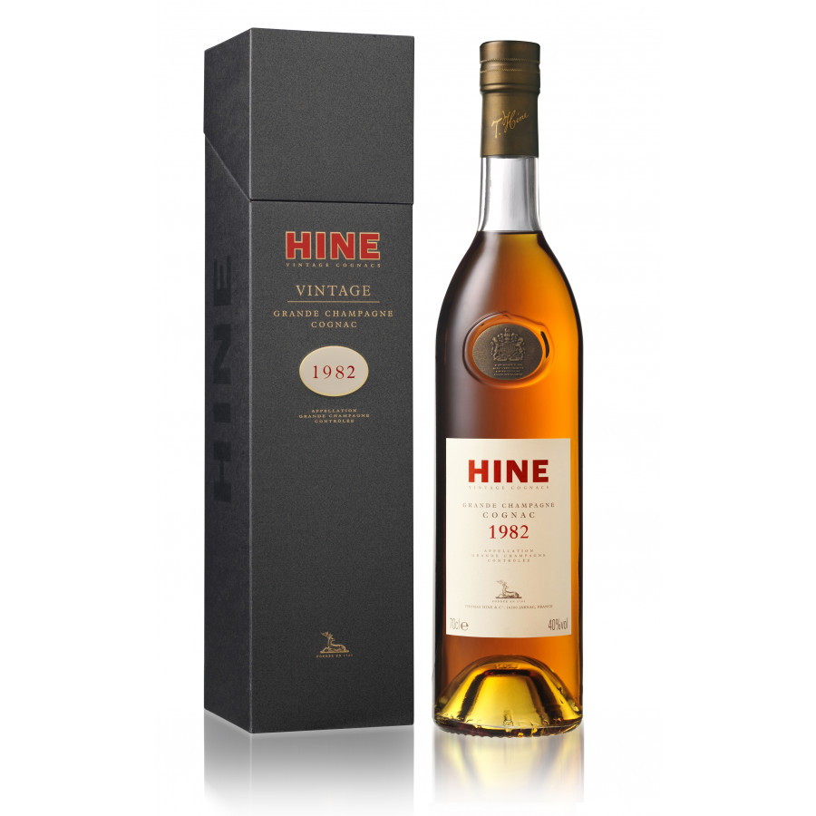 Hine Vintage Millésime 1982 Early Landed Cognac 01