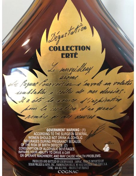 Courvoisier Extra Cognac Collection Erté No.5 Dégustation 09