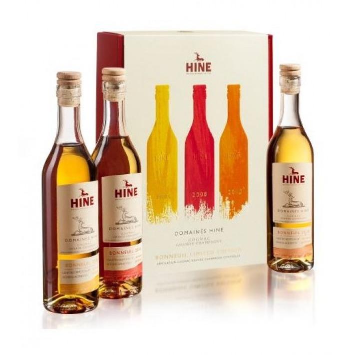 Hine Trio ''Bonneuil Collection'' Tasting Set Cognac 01