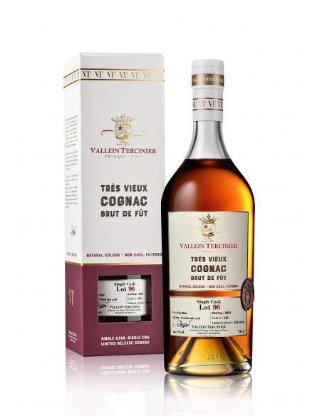 Vallein Tercinier Brut de Fût Lot 96 Single Cask Cognac 04