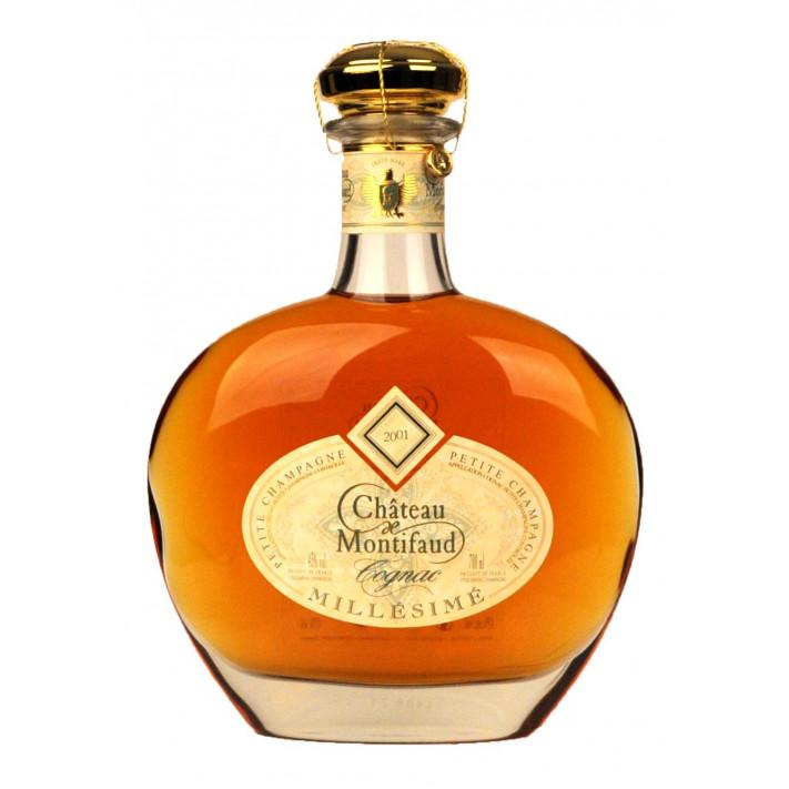 Chateau de Montifaud Petite Champagne Vintage 2001 Cognac 01
