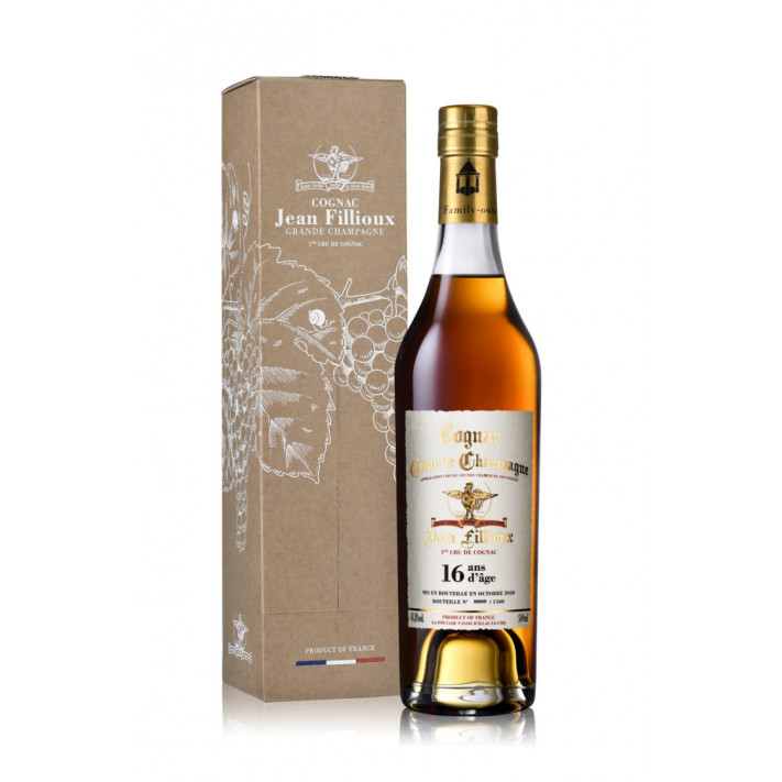 Jean Fillioux 16 years old Grande Champagne Cognac 01