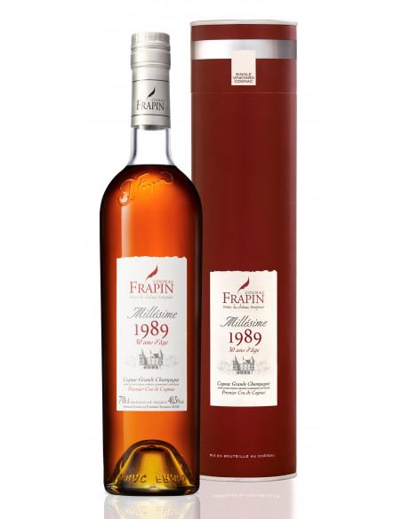 Frapin 1989 Vintage Château de Fonpinot Grande Champagne Cognac 04