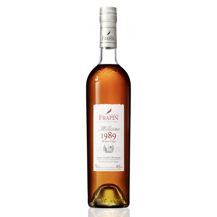 Frapin 1989 Vintage Château de Fonpinot Grande Champagne Cognac 01
