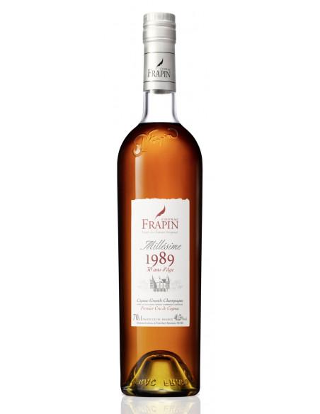 Frapin 1989 Vintage Château de Fonpinot Grande Champagne Cognac 03