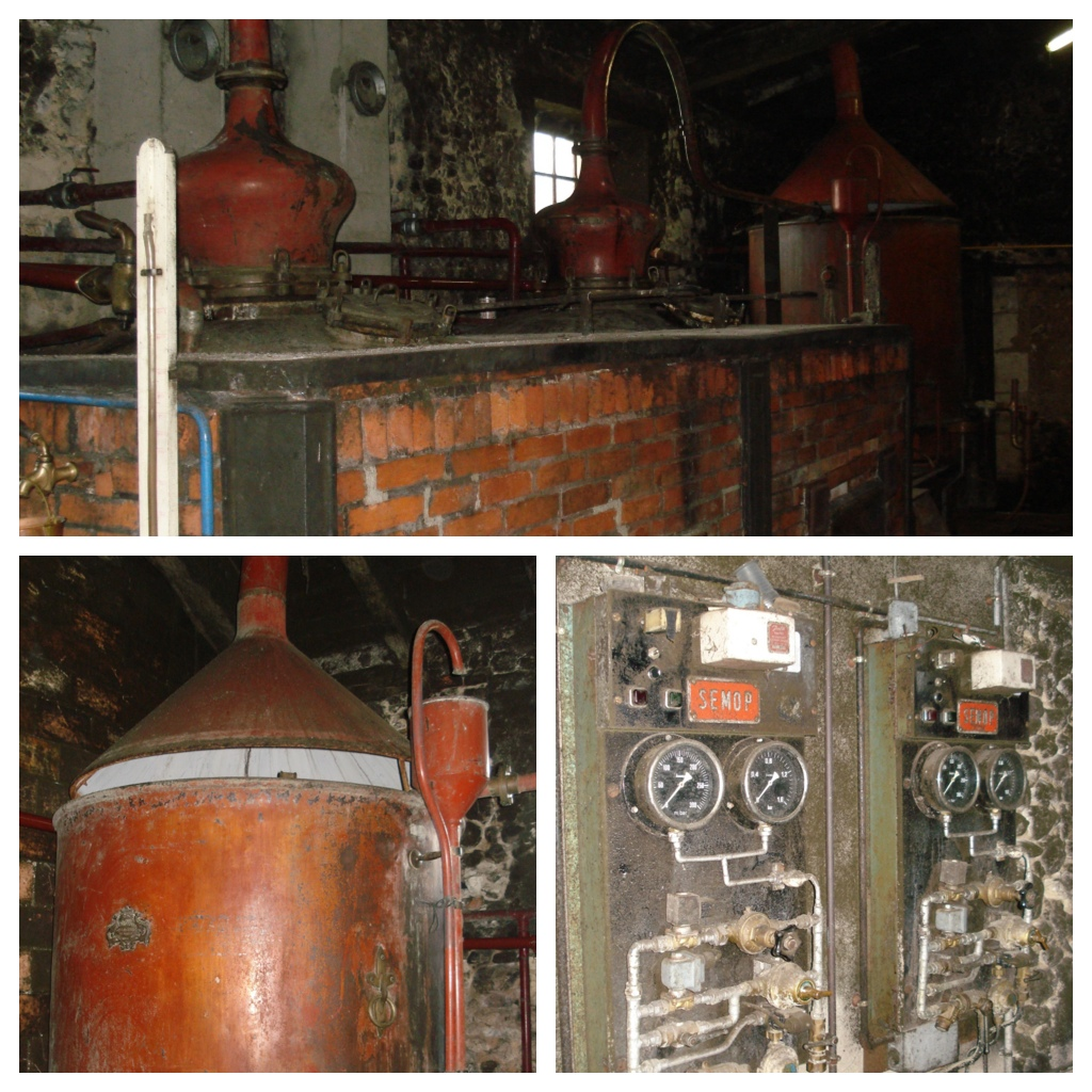 Old Pot Stills at Chateau des Plassons