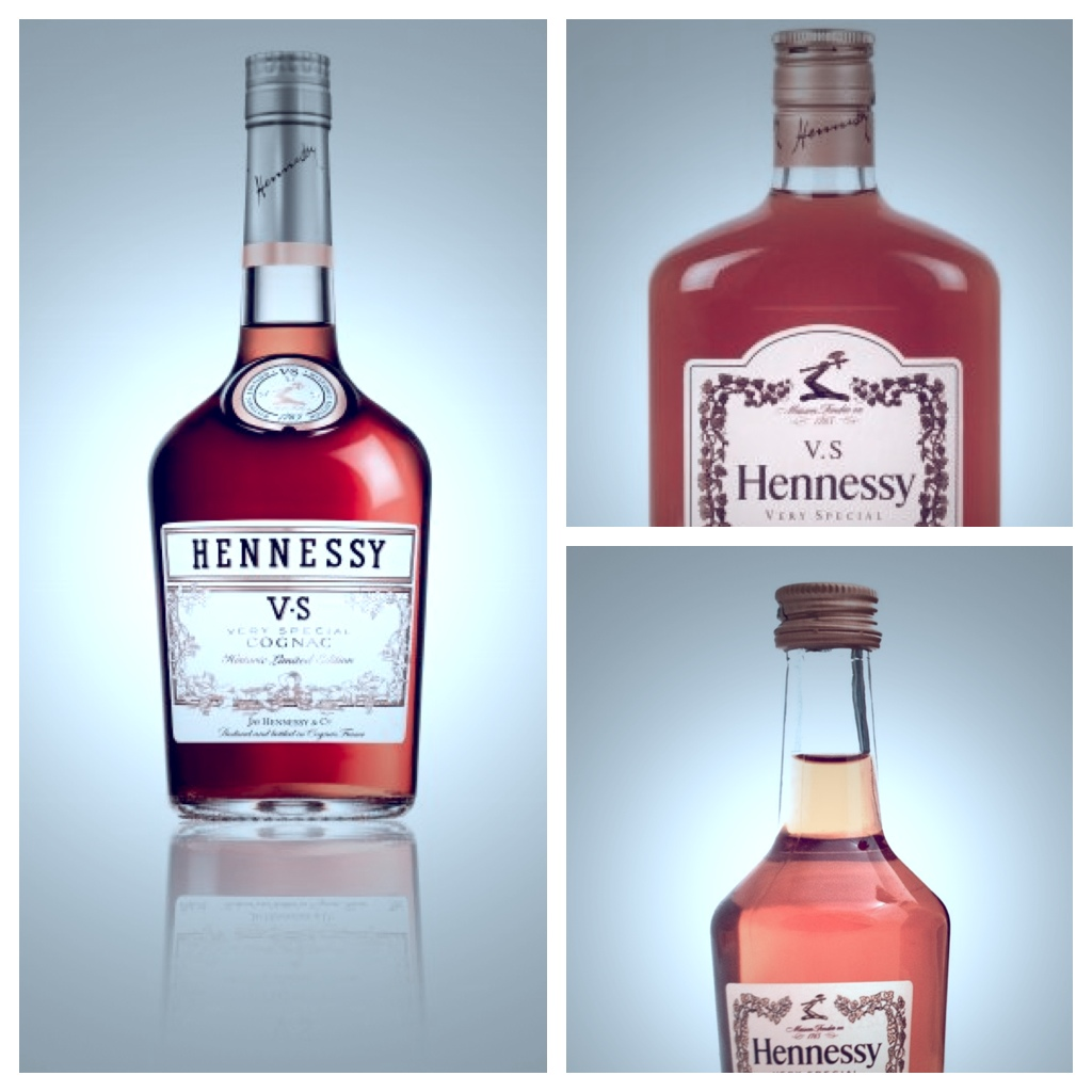 Hennessy VS Special Edition, Flask and Mini Bottle