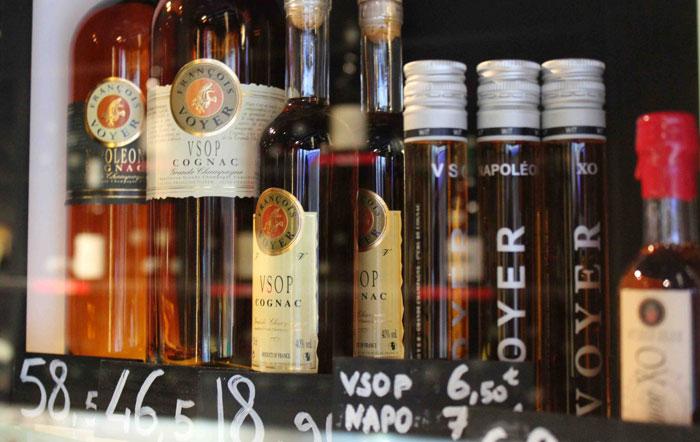 Cognac Lineup