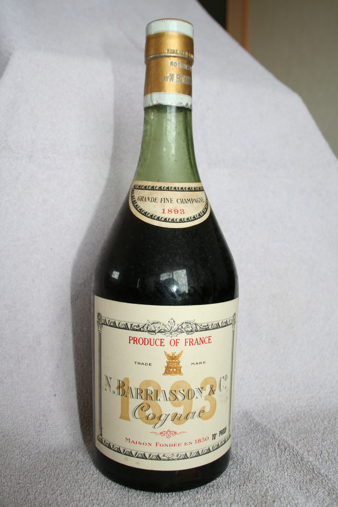 Barriasson Fine old liqueur brandy