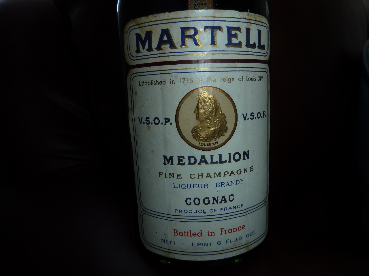 label Martell Medallion