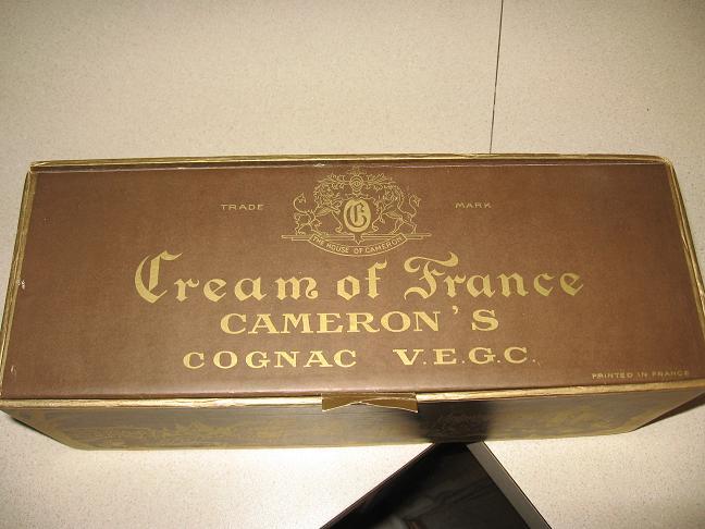 House of Cameron Cream of France V.E.G.C.