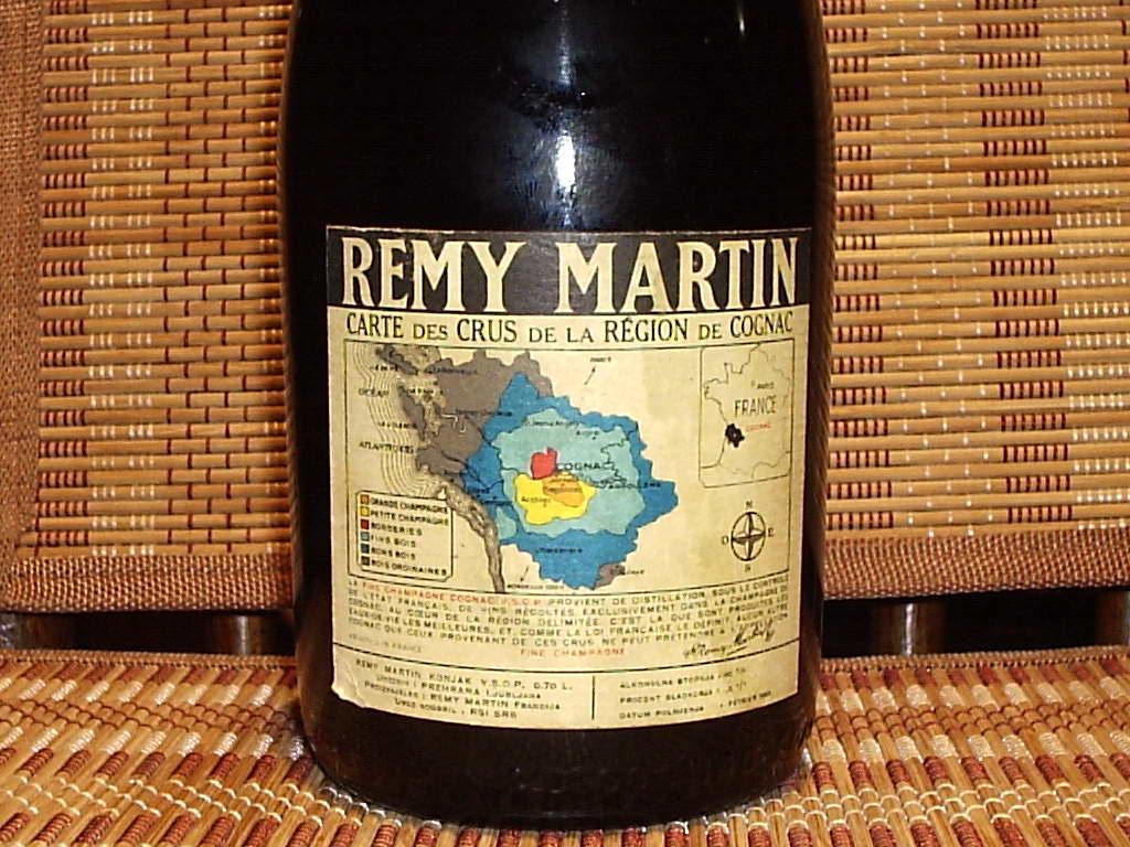 Remy Martin VSOP Back Label