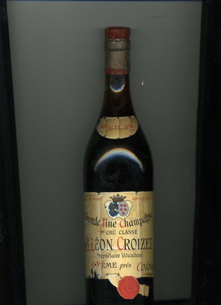 Croizet Grande Champagne Old Bottle