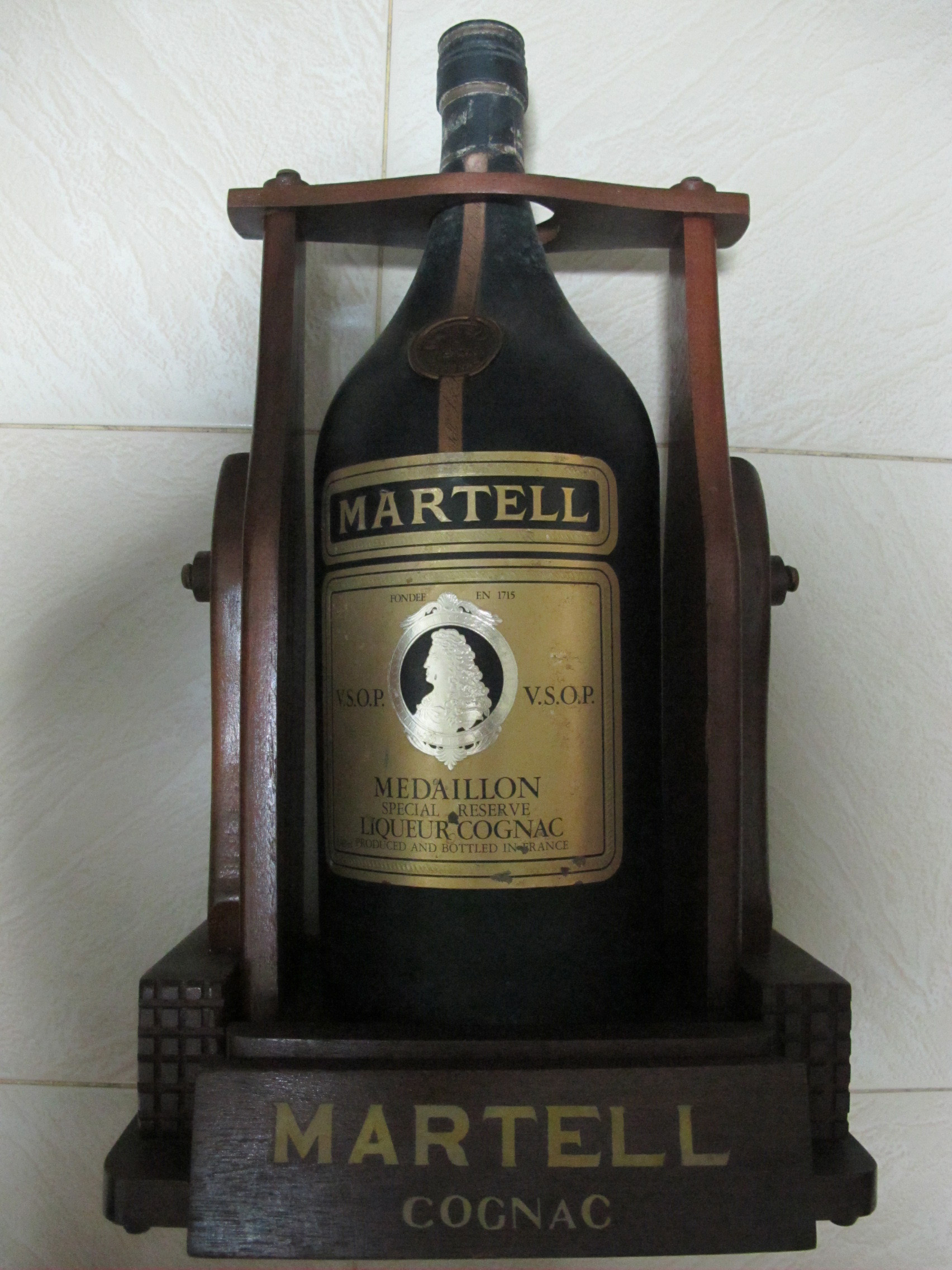 Magnum Martell Vsop Medaillon Liqueur Cognac Submitted To