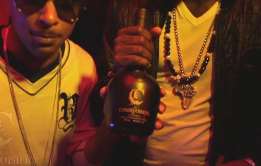 Courvoisier C Cognac bottle!