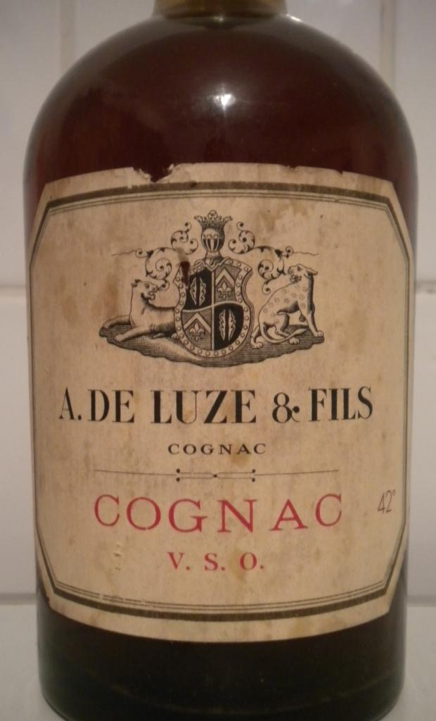 Lost & Found: An Old Cognac A. de Luze & Fils VSO