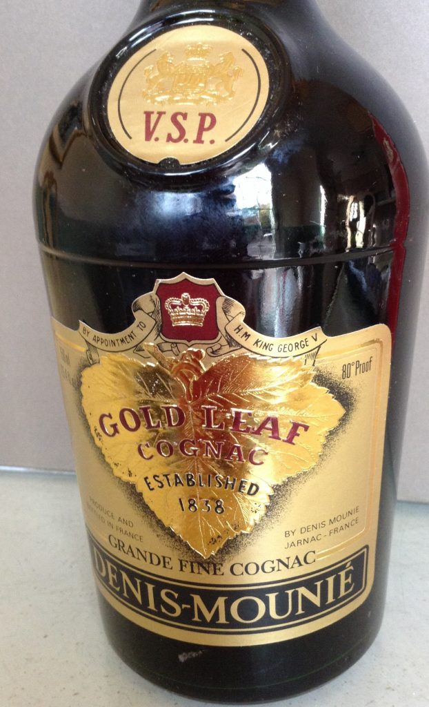 Denis Mounie VSP Gold Leaf Cognac