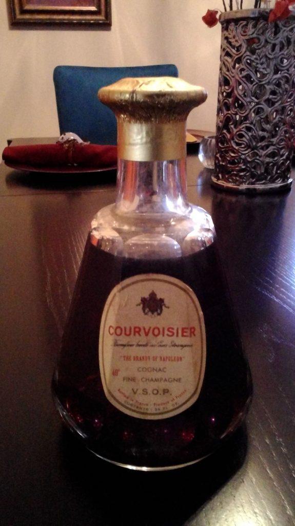 Cognac Courvoisier Fine Champagne VSOP