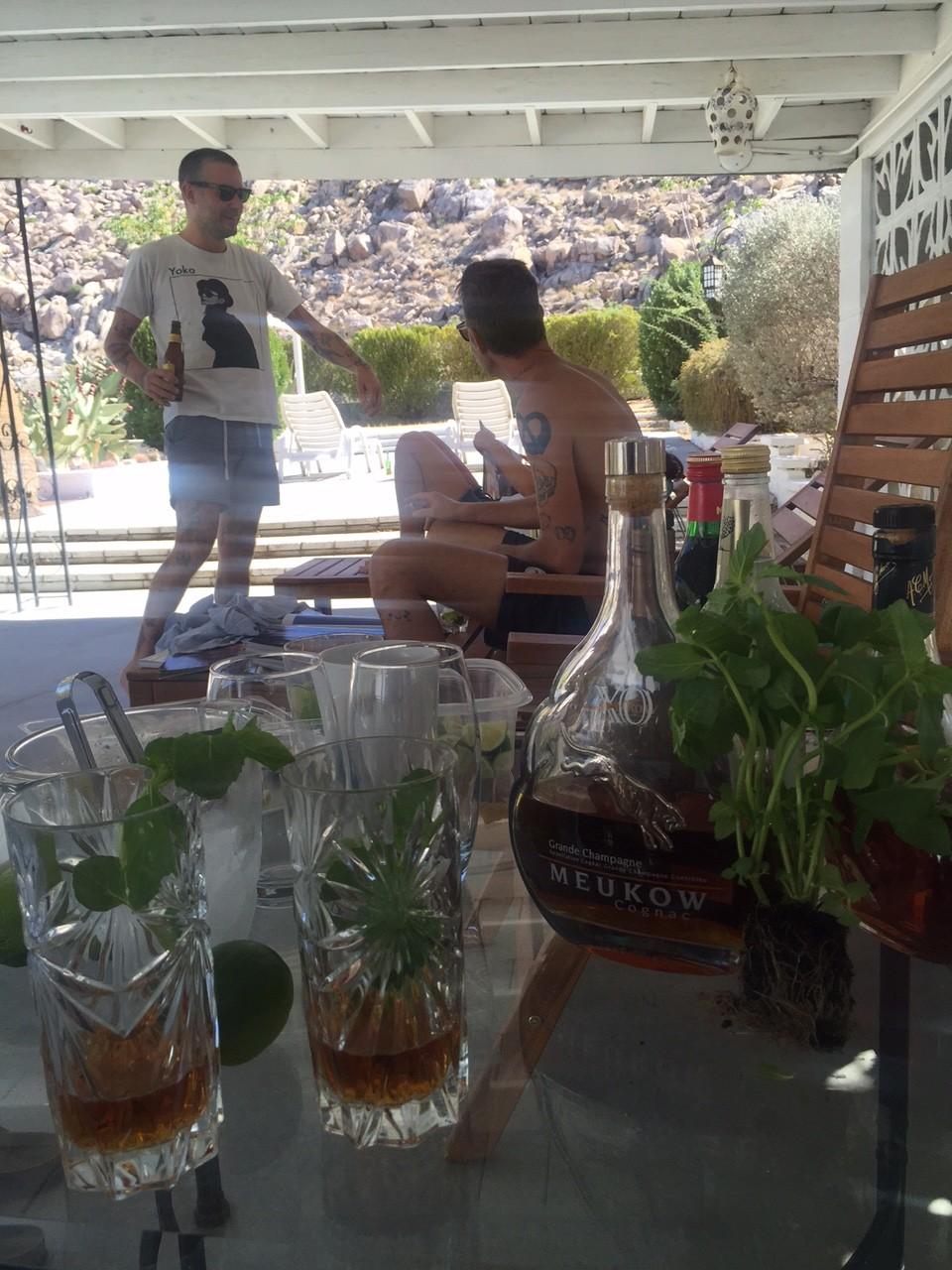 Sophie's Meukow Cognac Cocktails from California