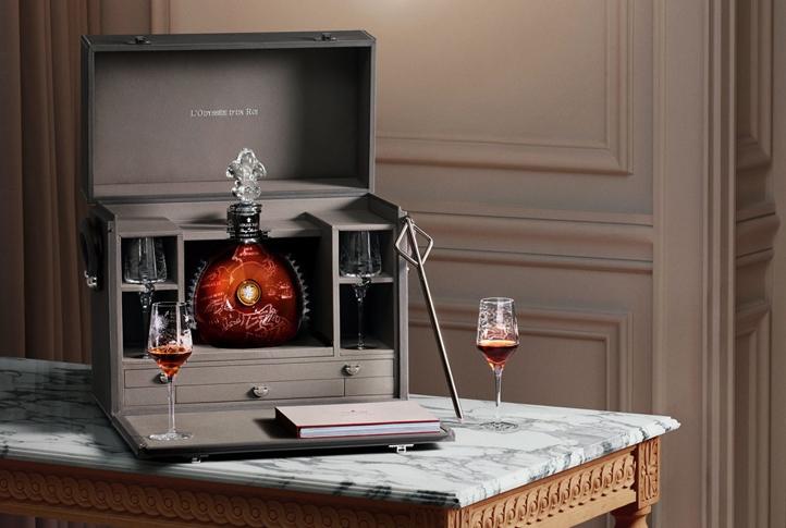 Hermès Creates Leather Trunks for Remy Martin Louis XIII: L'Odyssée d'un Roi