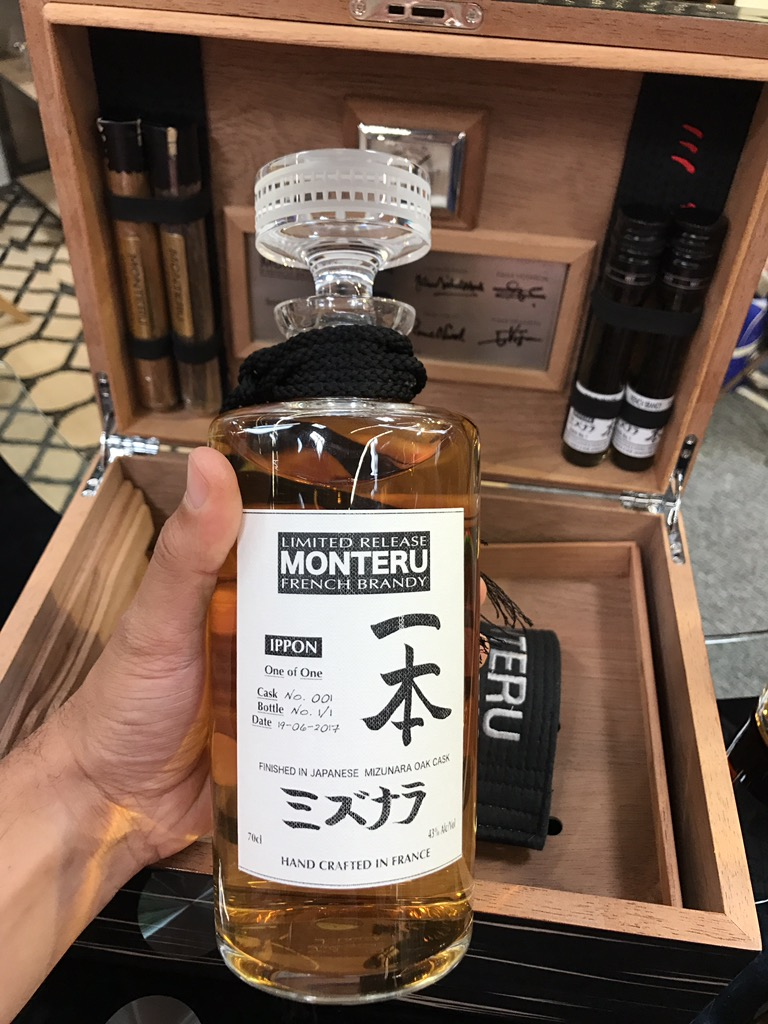 "Monteru Ippon Brandy: A luxurious novelty ""a la Japanese"""