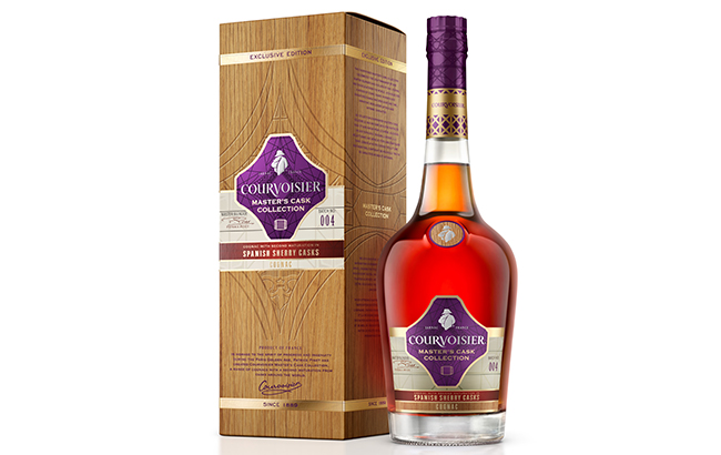 Sherry Cask Finish: Courvoisier Cognac with a Spanish Twist