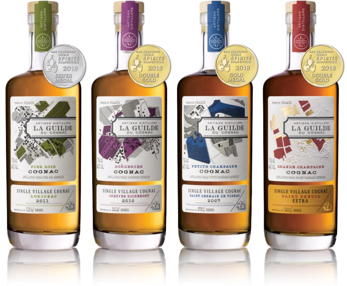 La Guilde du Cognac partners with William Grant & Sons