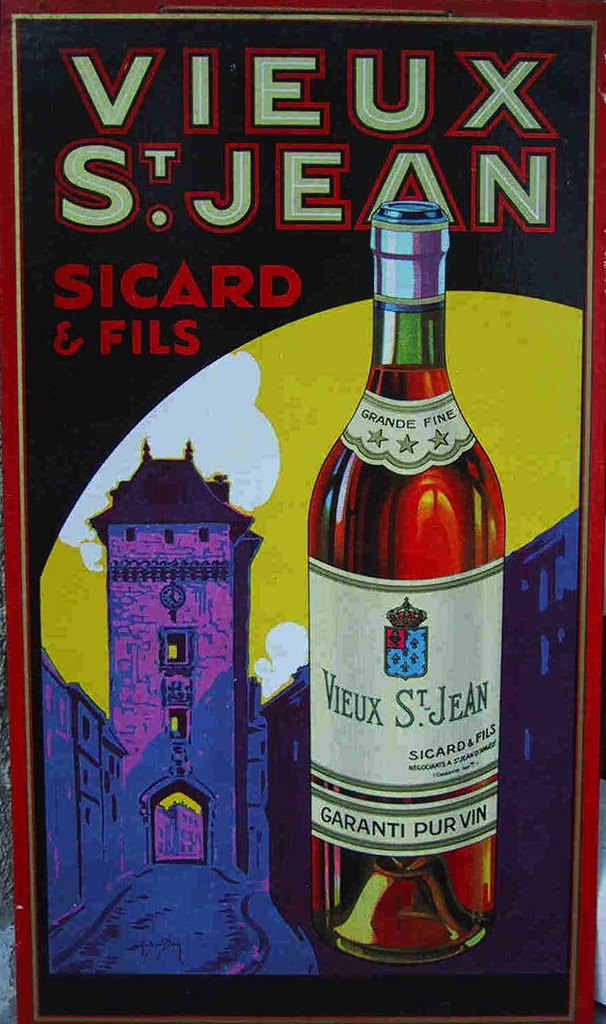 A Labor Of Love: Vintage Cognac Poster Collection by Simon Goode
