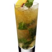 Georgian Julep Cocktail with Cognac
