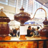 Distilling Cognac with Alambic Pot Still: Bad wine for Great Brandy