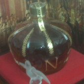 Crown filled with Very Old Imperial Reserve Brandy